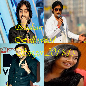 Top Ten Indian Bollywood Singers 2014-15