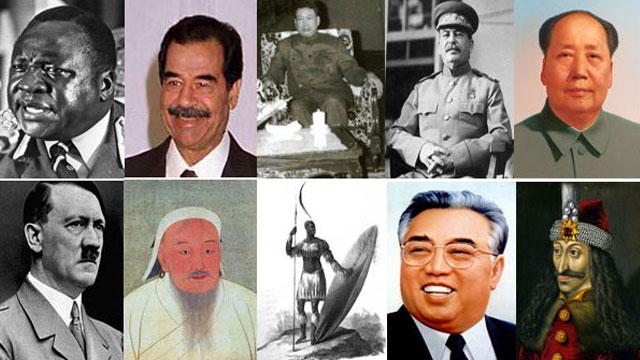 Top 10 Worst Dictators In History